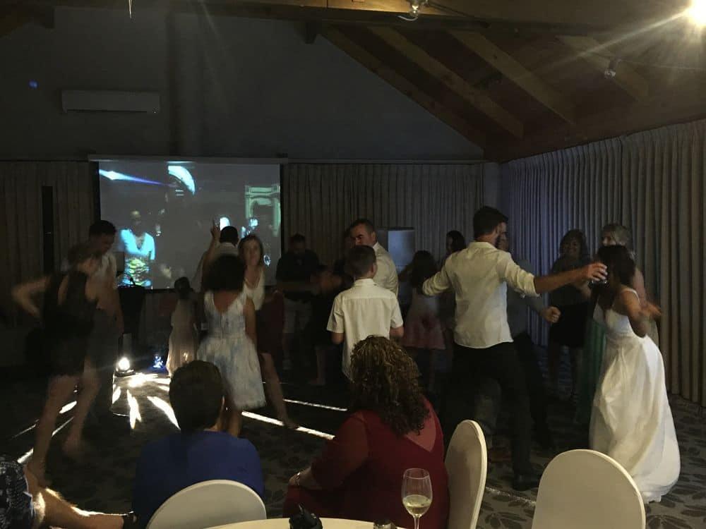 Grand Mercure Puka Park Resort - Wedding Guests Dancing