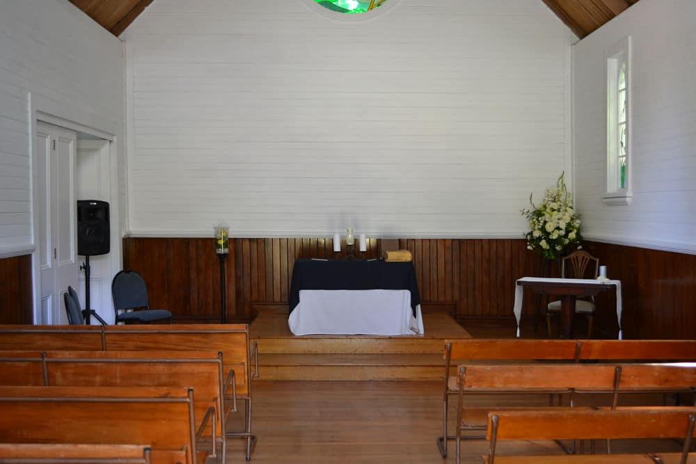 Henley Hotel - Cambridge - Inside Chapel - DJ Sound System