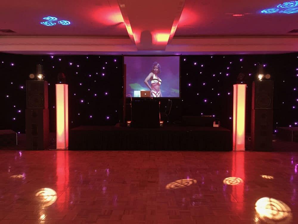 The Distinction Hotel Palmerston North - DJ equipment set up for school ball